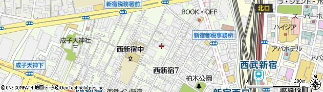 興亜第2マンション周辺の地図