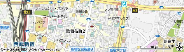 ゆるラビ周辺の地図
