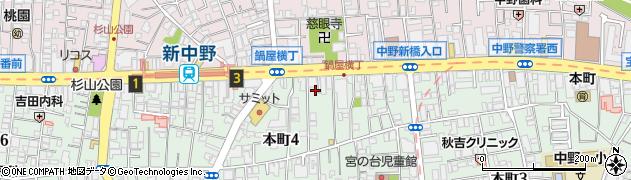 ナルジュンネイル(narujun nail)周辺の地図