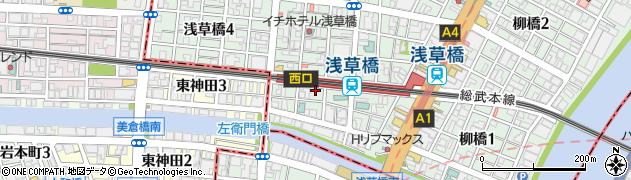 鉄板食道飯蔵周辺の地図