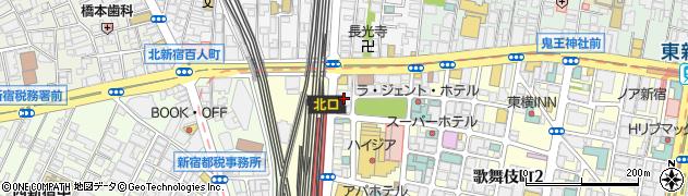 桜花会(医療法人社団) KM新宿クリニック周辺の地図