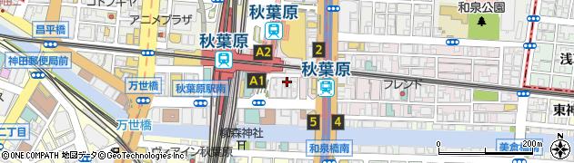 薩摩日和 秋葉原店周辺の地図