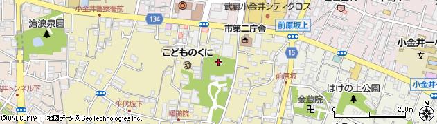 幡随院周辺の地図