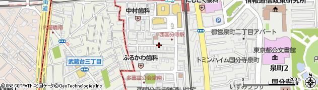 都営泉町三丁目アパート周辺の地図
