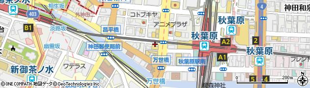 東京都千代田区外神田1丁目周辺の地図