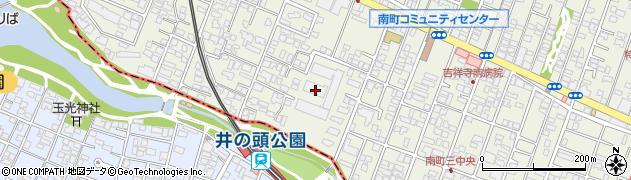 井の頭公園パークハウス吉祥寺南町周辺の地図