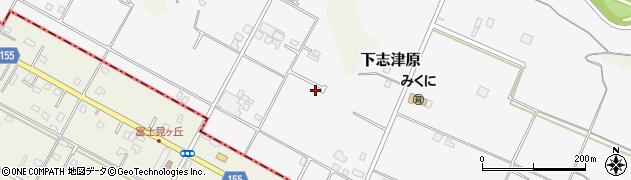 千葉県佐倉市下志津原周辺の地図