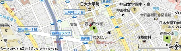 東京都千代田区西神田周辺の地図