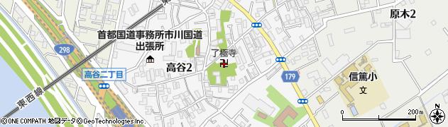 了極寺周辺の地図