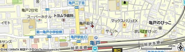 山きん周辺の地図
