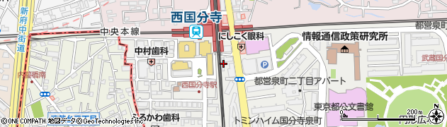 一葉松周辺の地図