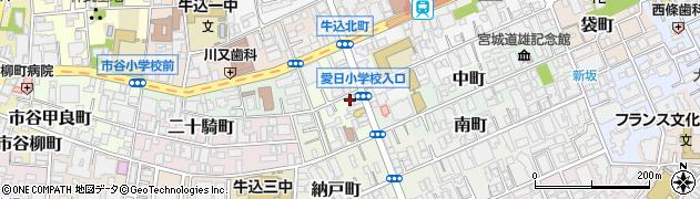 豚三昧周辺の地図