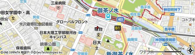 楽蔵 御茶ノ水店周辺の地図
