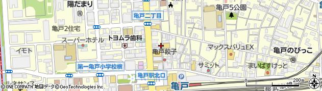 焼肉・青木先輩周辺の地図