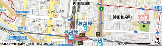 東京都千代田区神田相生町周辺の地図
