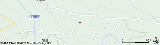 岐阜県中津川市付知町(下浦)周辺の地図