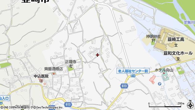 〒407-0037 山梨県韮崎市大草町若尾の地図