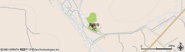 海蔵寺周辺の地図