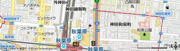 東京都千代田区神田松永町周辺の地図