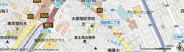 東京大神宮周辺の地図