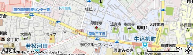 積徳寺周辺の地図