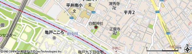 白髭神社周辺の地図