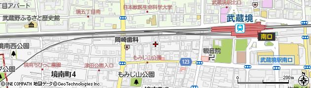 まつ浅周辺の地図