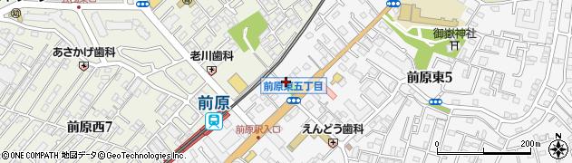道入庵周辺の地図