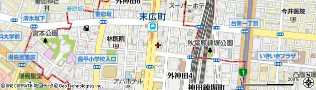 ハートオブハーツ周辺の地図