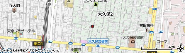 夫婦木神社周辺の地図