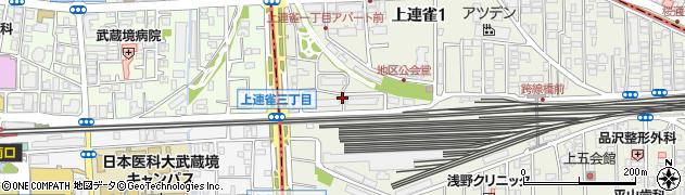 都営上連雀一丁目アパート周辺の地図