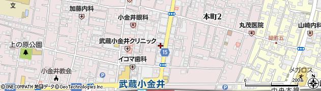 クラブ・パピヨン周辺の地図