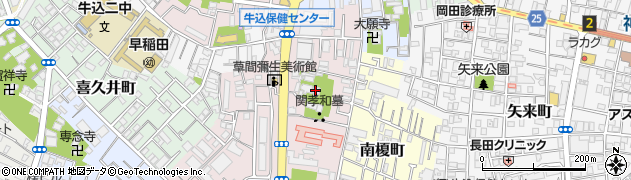 多聞院周辺の地図