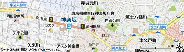 ラ・マティエール周辺の地図