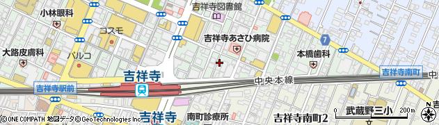 DANDY周辺の地図