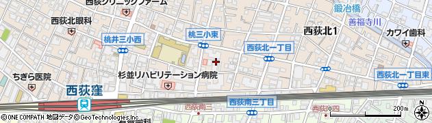 豊栄西荻マンション周辺の地図