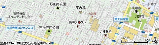 東京都武蔵野市吉祥寺本町周辺の地図