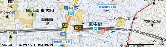 麺家 ばく周辺の地図