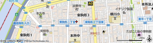 桃青禅寺周辺の地図
