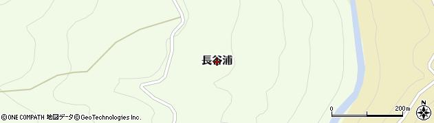 長野県伊那市長谷浦周辺の地図