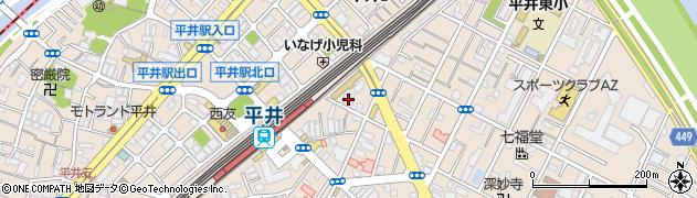 道了寺周辺の地図