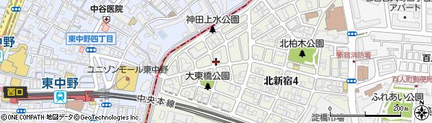 マンションVIP新宿柏木周辺の地図