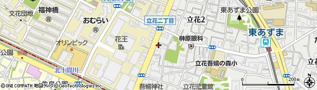 京山グループ周辺の地図