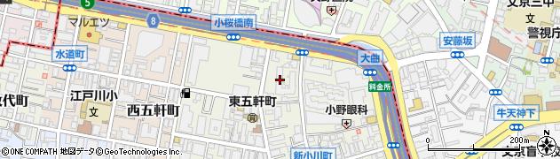 飯田橋第一パークファミリア周辺の地図