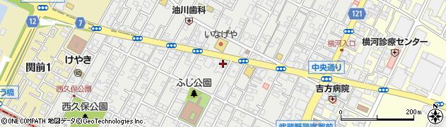 株式会社すかいらーく 本部周辺の地図