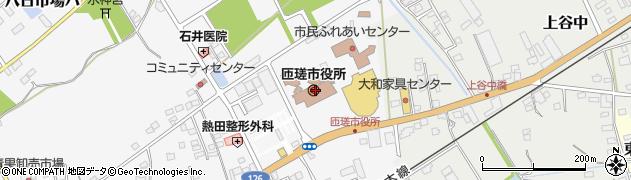千葉県匝瑳市周辺の地図