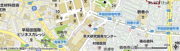 東京都新宿区戸塚町周辺の地図