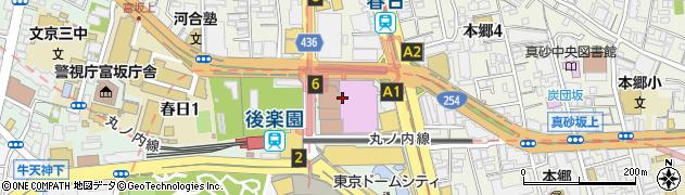 文京区役所保健衛生部・文京保健所 保健サービスセンター健康相談係周辺の地図