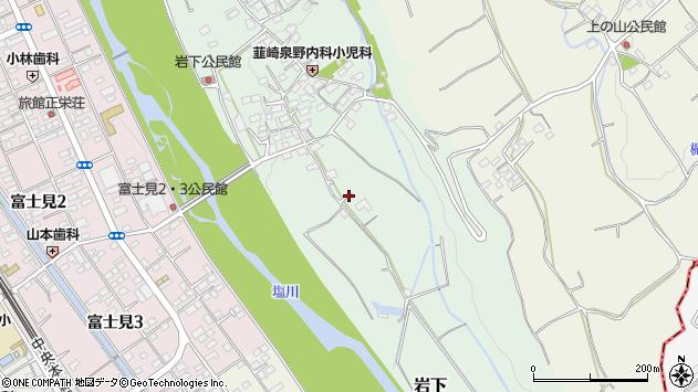 〒407-0012 山梨県韮崎市岩下の地図