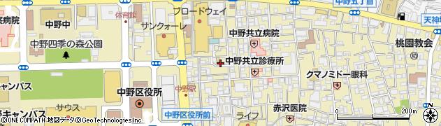 禅周辺の地図